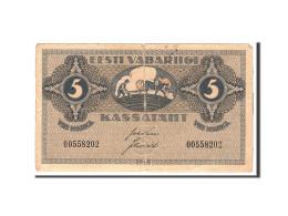 Estonia, 5 Marka, 1919, KM:45a, Undated, TB+ - Estonie