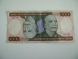 BRAZIL - BANCO CENTRAL Do BRASIL - 1000 CRUZEIROS   BILLET  PAPER  MONEY  +++++ - Brazil