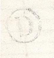 MARNE 51 VILLE EN TARDENOIS LAC (texte Partiel) TAD Type 16 Du 01/07/1875 GC 4222 Sur N° 60  Boite Rurale D = Pourcy TB - Marcophilie (Lettres)