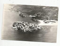 Cp , MONTENEGRO , SV. STEFAN , Voyagée 1965 , Ed : General Turist - Montenegro