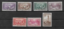 Timbres  D'andorre De 1932/33  N°25 A 31    Neuf * Petite  Charnière - Ungebraucht