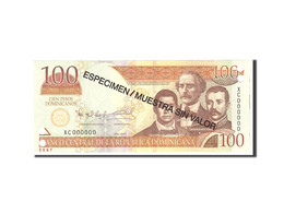 Dominican Republic, 100 Pesos Dominicanos, 2011, KM:184s, Undated, NEUF - Dominicaine