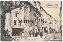 SAINT-CLAUDE - N° 28 - LA MONTEE DE LA POYAT - Saint Claude