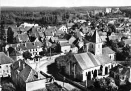 21-MIREBEAU-SUR-BEZE- VUE DU CIEL - Mirebeau