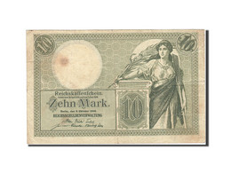 Allemagne, 10 Mark, 1904-1906, KM:9b, 1906-10-06, TTB - [ 2] 1871-1918 : Impero Tedesco