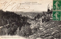 CPA    -    SAINT CHELY D´ APCHER    -    TATULA ET SES ROCHERS - Saint Chely D'Apcher