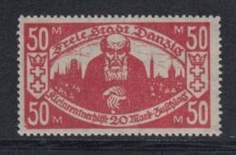 (00082) Danzig 131 I Postfrisch Geprüft - Danzig