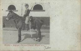 Belgique - Chasseur à Cheval - Grande Tenue - 1905 - Uniformes