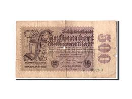 Allemagne, 500 Millionen Mark, 1923, KM:110e, 1923-09-01, AB - [ 3] 1918-1933: Weimarrepubliek