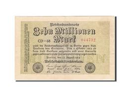 Allemagne, 10 Millionen Mark, 1923, KM:106a, 1923-08-22, TB - [ 3] 1918-1933 : Weimar Republic