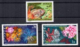 Monaco - 1974 - 24th Congress Commission For Scientific Exploration Of Mediterranean Sea - MNH - Neufs