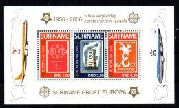 Surinam - 2006 - 50th Anniversary Of Europa Stamps Miniature Sheet - MNH - Surinam