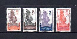 Gabón   1910 .-  Y&T  Nº   33/35 - 37     ( 37 Con Doblez ) - Gabon (1886-1936)
