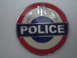 Plaque Police Obsolète,état Neuf - Police