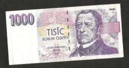 CZECH REPUBLIC / REPUBBLICA CECA - NATIONAL BANK - 1000 KORUN (1993) F. Palacky - Repubblica Ceca