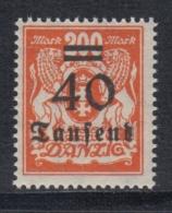 (02153) Danzig 158 Postfrisch - Danzig