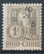 Indochine YT Taxe 15 Obl - Indochine (1889-1945)