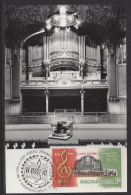 HUNGARY-1975.Maximum Card - Franz Liszt Musical Academy, Centenary III.Mi:3080. - Cartes-maximum (CM)