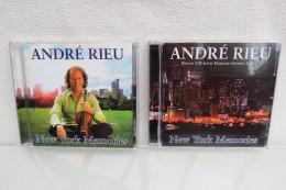 "2 CDs ""André Rieu"" New York Memories - Instrumental"