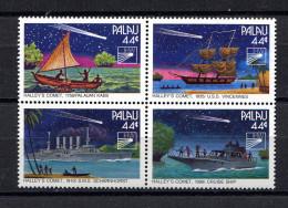 Palau,   1986,  Komet Halley,  Space