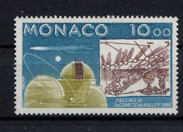 Monaco,   1986,  Komet Halley,  Space