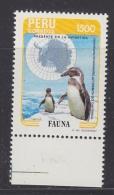 Peru 1985 Antarctica / Penguin 1v ** Mnh (32510A) - Peru