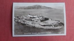 RPPC  Alcatraz Island San Francisco Bay California==            Ref 2348 - Prison