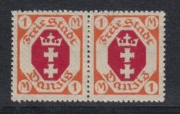(03712) Danzig 83 I Postfrisch Im Paar Mit Normalmarke - Danzig