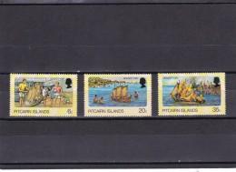 Pitcairn Nº 172 Al 174 - Sellos