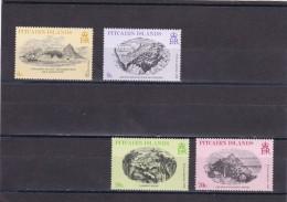Pitcairn Nº 181 Al 184 - Sellos