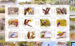 Bangladesh Stamps 2011, Birds Of The Sundarbans World Heritage, MS - Bangladesh