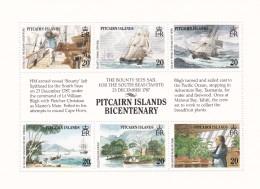 Pitcairn Nº 317 Al 322 - Sellos