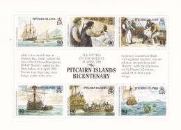 Pitcairn Nº 323 Al 328 - Sellos