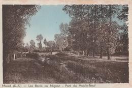 CP Mauzé Les Bords Du Mignon - Pont Du Moulin-Neuf - Mauze Sur Le Mignon