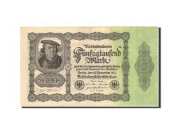 Allemagne, 50,000 Mark, 1922-1923, KM:79, 1922-11-19, SUP - [ 3] 1918-1933 : Weimar Republic