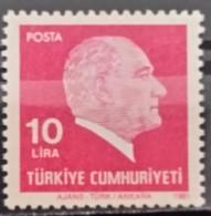 Turkey, 1981, Mi: 2541 (MNH) - 1921-... República