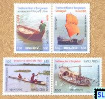 Bangladesh Stamps 2015, Traditional Boats, MNH - Bangladesh