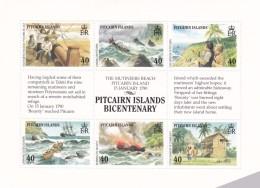 Pitcairn Nº 337 Al 342 - Sellos