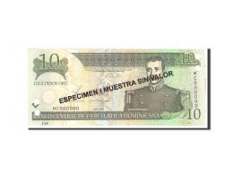 Dominican Republic, 10 Pesos Oro, 2003, KM:168s3, Undated, NEUF - Dominicaine