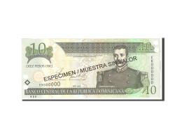 Dominican Republic, 10 Pesos Oro, 2002, KM:168s2, Undated, NEUF - Dominicaine