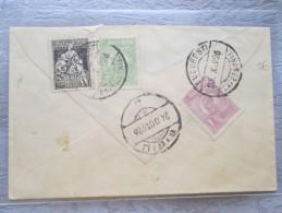 HONGRIE BELLE ENVELOPPE  3 TIMBRES  1926 - Marcofilia