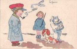 """Be - Cpa Illustrée """"Le Général"""" - Orphelinat Des Armées - Humorísticas"""