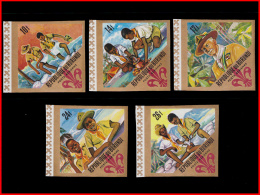 Burundi PA 0057/61** ND  Scoutisme  MNH - Burundi