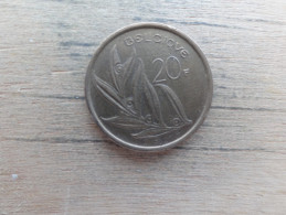 Belgique  20  Francs  Fr  1982  Km 159 - 1951-1993: Baudouin I