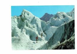 Cpsm - Sport Alpinisme Alpinistes - AU PAYS DU MONT BLANC Cordée Glacier Bossons N°7578 Rossat - Alpinisme