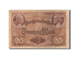 Allemagne, 20 Mark, 1914, KM:48b, 1914-08-05, B+ - [ 2] 1871-1918 : Empire Allemand