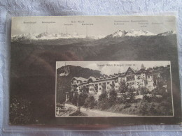 GRUSS VOM MENDELPASS BEI BOZEN . GRAND HOTEL PENEGAL - Österreich