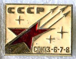 Soyuz-6 Soyuz-7 Soyuz-8 Space Flight - Space