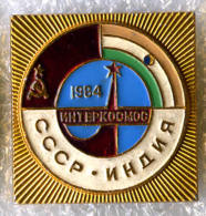 Interkosmos USSR-India Soyuz T-11 Space Flight Malyshev / Strekalov / Sharma 1984 - Space