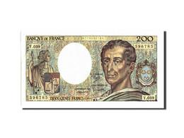 France, 200 Francs, 200 F 1981-1994 ''Montesquieu'', 1986, 1986, KM:155a, TTB... - 200 F 1981-1994 ''Montesquieu''